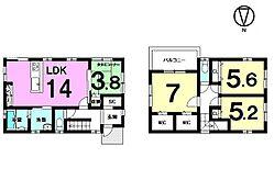 全居室に収納スペースを確保。駐車2台可能です。