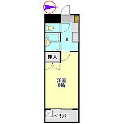 U・TOPIA 60[305号室]の間取り