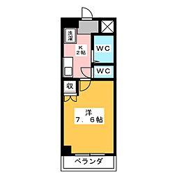 第二小島ビル[3階]の間取り
