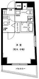 東京都葛飾区白鳥1丁目の賃貸マンションの間取り