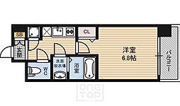 レジュールアッシュ ザ・パークフロント[4階]の間取り