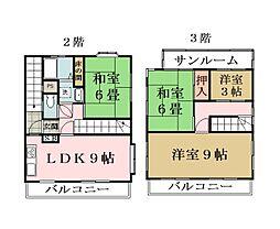 [一戸建] 埼玉県草加市吉町5丁目 の賃貸【/】の間取り