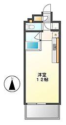 クレイタスパークⅣ[4階]の間取り