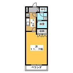 レジデンス・ビット[2階]の間取り