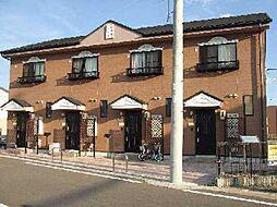 愛知県小牧市大字北外山の賃貸アパートの外観