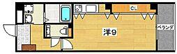 M'S style-Qoo[2階]の間取り