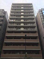 東京都港区芝3丁目の賃貸マンションの外観