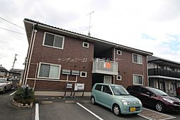 岡山県岡山市北区西崎1丁目の賃貸アパートの外観