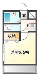 ケイマンション[3階]の間取り