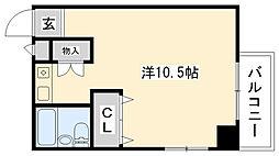 タケダビル95[206号室]の間取り