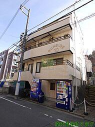 東京都新宿区南元町の賃貸マンションの外観