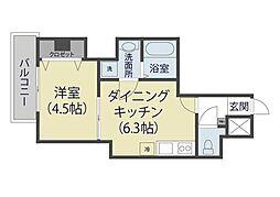 仮)芝新町ヒルズマンション225[202号室]の間取り