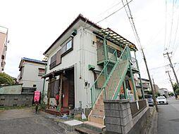 埼玉県川口市前上町の賃貸アパートの外観