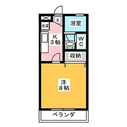 SEZON9[2階]の間取り