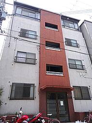 朋栄マンション[4階]の外観