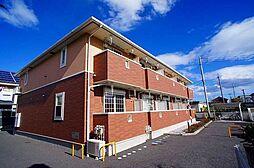 群馬県伊勢崎市今井町の賃貸アパートの外観