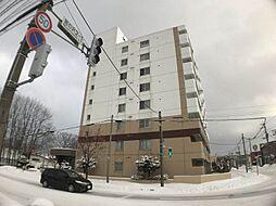 北海道札幌市西区西町南21丁目の賃貸マンションの外観