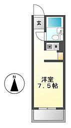 ラフィネ新栄[6階]の間取り