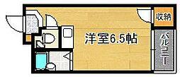 大阪府大阪市平野区流町3丁目の賃貸マンションの間取り