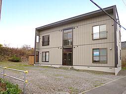 北海道小樽市祝津3丁目の賃貸アパートの外観