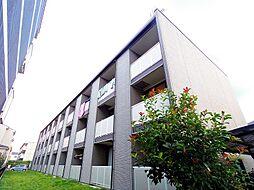 埼玉県志木市中宗岡5丁目の賃貸アパートの外観