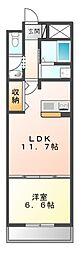 愛知県名古屋市港区高木町4の賃貸マンションの間取り
