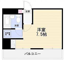 スターホームズ横須賀中央[703号室]の間取り