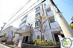 兵庫県明石市中朝霧丘の賃貸マンションの外観