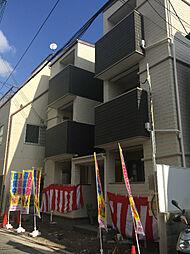 大阪府堺市堺区南安井町5丁の賃貸アパートの外観