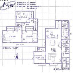 一戸建て(東松山駅から徒歩21分、105.16m²、2,490万円)