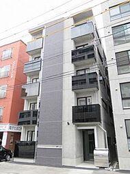 北海道札幌市豊平区豊平三条9丁目の賃貸マンションの外観