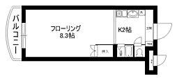 セラ中川 II[2階]の間取り