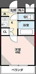東京都足立区花畑8丁目の賃貸マンションの間取り