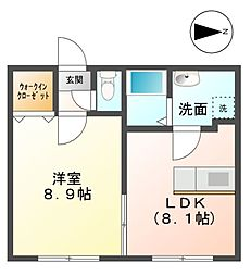 ナノハウス[1階]の間取り