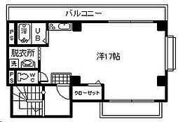 福島ハイツ[202号室]の間取り