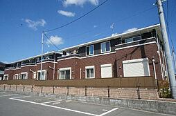 福岡県宗像市平井1丁目の賃貸アパートの外観