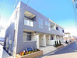 千葉県松戸市小金きよしヶ丘4丁目の賃貸アパートの外観
