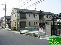 ガーデンタウン清水B棟[102号室]の外観