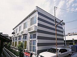 大阪府大阪市東淀川区小松3丁目の賃貸アパートの外観