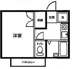 トップハウス[C号室号室]の間取り