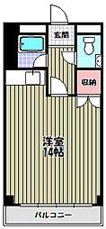 池側ビル[2階]の間取り