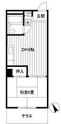 シーサイド平尾[1階]の間取り