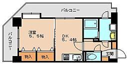 フォートエス[4階]の間取り