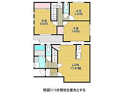 [一戸建] 愛知県名古屋市千種区下方町6丁目 の賃貸【/】の間取り