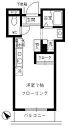お茶ノ水リバーサイド[6階]の間取り