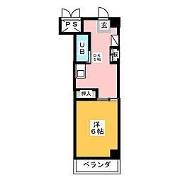 CASA NOAH鶴舞公園II[9階]の間取り