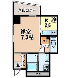 (仮)新地SKビル[4階]の間取り