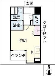 RevestMATSUBARA[11階]の間取り