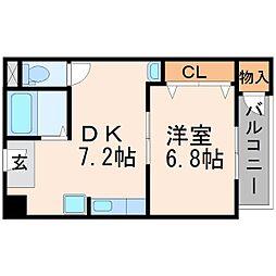 メゾン・ド・シーザリオ[4階]の間取り