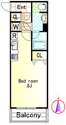 ステップ1[210号室]の外観